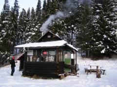 căsuţa iarna